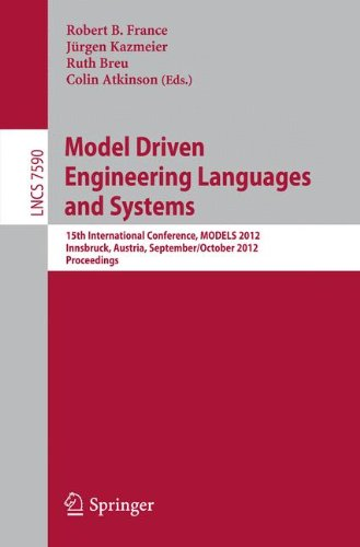 Model Driven Engineering Languages and Systems: 15th International Conference, MODELS 2012, Innsbruck, Austria, Septembe