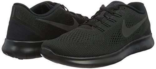 Run Free anthracite Donna Black Nero Running 831509 Scarpe black Nike AHdzf5q5