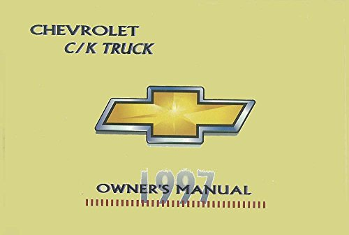 (bishko automotive literature 1997 Chevrolet C K Pickup Truck Owners Manual User Guide Reference Operator Book)