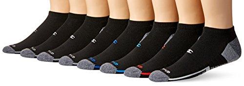 Champion Elite Men's Low Cut Socks, black multi/color, 6-12