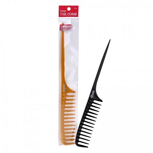 Annie Tail Comb Large Bone #34