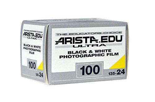 Arista EDU Ultra 100 ISO Black & White Photographic Film, 35mm, 24 exposure (Film 24 Exp 400 Iso)