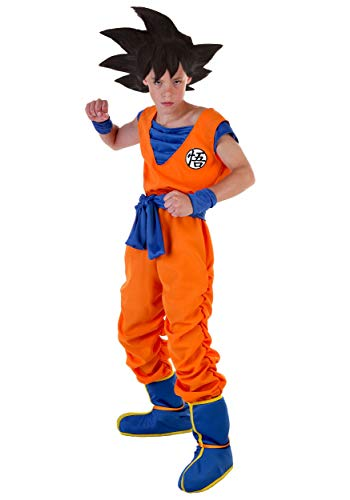 Goku Costume for Kids Boys Dragon Ball Z Costume Large -