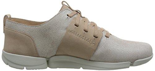 Kombi Lav top Caitlin Hvitt Clarks Sneakers Tri Kvinners AHcWB0U