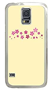 Samsung Galaxy S5 patterns abstract parallax 18 PC Custom Samsung Galaxy S5 Case Cover Transparent