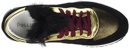 Pollini Damen W.Sneakers Sneaker Mehrfarbig (Multicolore 90A)