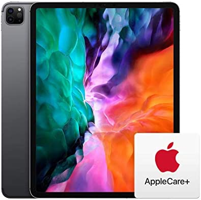 New Apple iPad Pro (12.9-inch, Wi-Fi + Cellular, 256GB) - Space Gray (4th Generation) with AppleCare+ Bundle