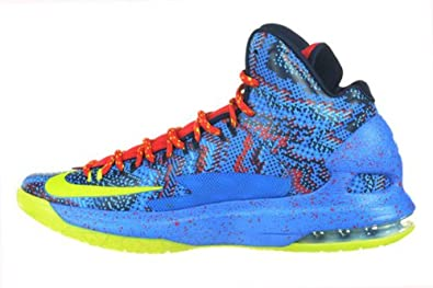 new product fb414 1afbe Amazon.com   Nike KD V Christmas Men s Kevin Durant Shoes OKC Blue Green Red  554988-401 (10 D(M) US)   Fashion Sneakers
