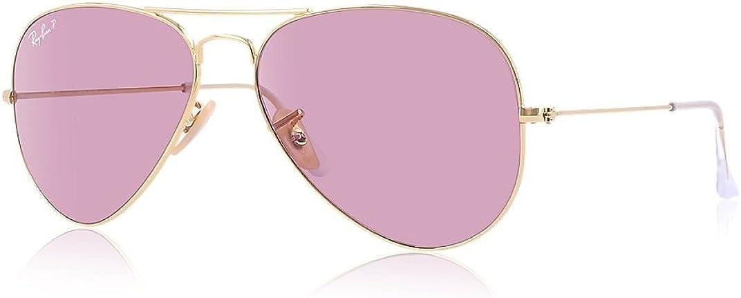 Ray Ban Gafas de sol MOD. 3025 Rosa (Marco: Dorado, Lente