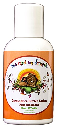 Gentle Shea Butter Lotion With Honey & Vanilla for Kids and Babies by Nabila K (2oz) by Nabilak
