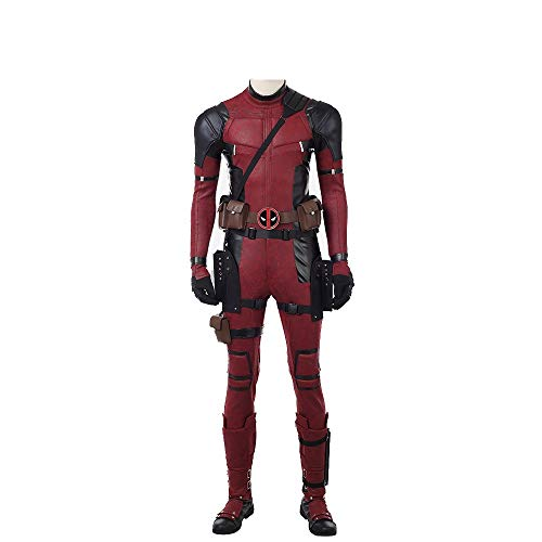 DP Movie Cosplay Costume Wade Costume Deluxe Leather Jumpsuit Outfit Bodysuits Halloween Costumes -