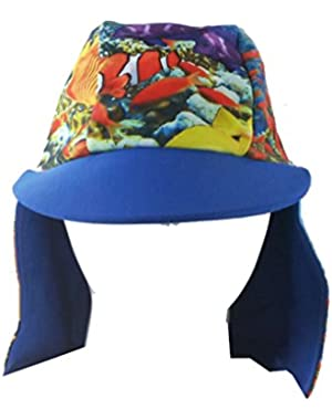 Baby Toddler Boys Flap Sun Protection Hat Multi Colors
