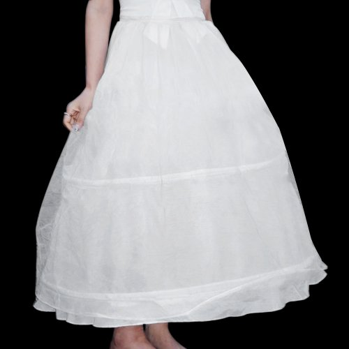 Ecloud Shop Enagua Vestido de dos aros para Boda, fiesta, comunión con Cancán: Amazon.es: Hogar