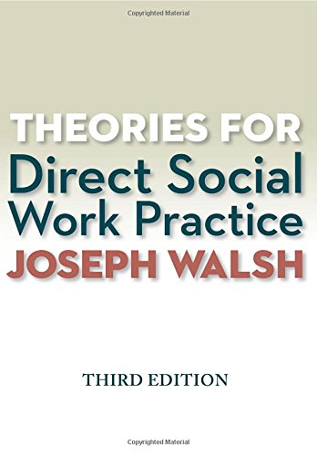Theories for Direct Social Work Practice (Book Only) cover