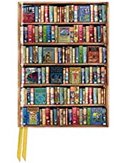 Bodleian Libraries: Hobbies and Pastimes Bookshelves (Foiled Pocket Journal)