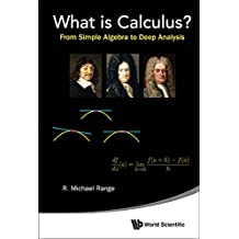 What is Calculus?:From Simple Algebra to Deep Analysis