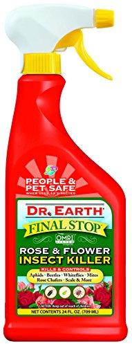 Bug 24 Rtu Oz (Dr. Earth Final Stop Rose & Flower Insect Killer 24 oz RTU)