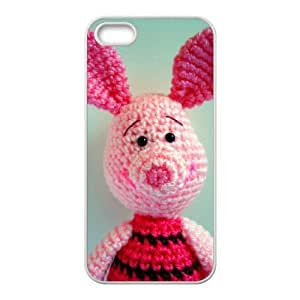 Cartoon Bear Unique Design Cover Case with Hard Shell Protection for Iphone 5,5S Case lxa#978112