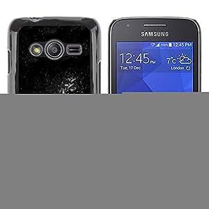 Shell-Star Arte & diseño plástico duro Fundas Cover Cubre Hard Case Cover para Samsung Galaxy Ace4 / Galaxy Ace 4 LTE / SM-G313F ( Dark Space Galaxy )
