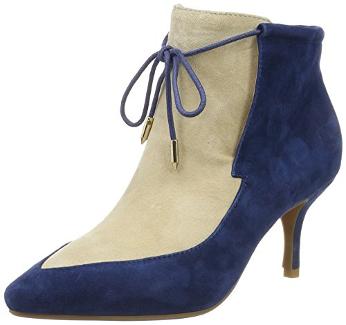 Shoe The Bear Damen Leni S Kurzschaft Stiefel Blau (171 NAVY)