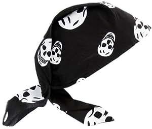 Grandes imitaciones -  Pañuelo y parche para disfraz de pirata  (a partir de 2 años) - 25.4 x 13.7 x 1.3 cm
