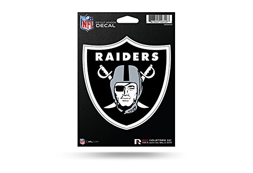 - NFL Raiders Oakland Medium Die Cut Decal, 9