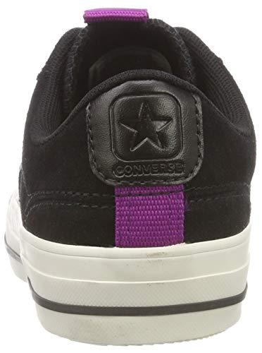 Baskets Star icon black Player Noir Mixte egret 001 Adulte Converse Violet 4qdFx7wq