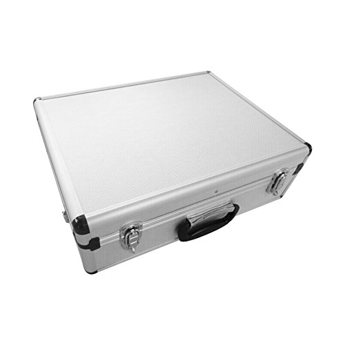 SRA Cases Aluminum Tool Case with Dividers, 18.1 x 14 x 6 Inches by SRA Cases