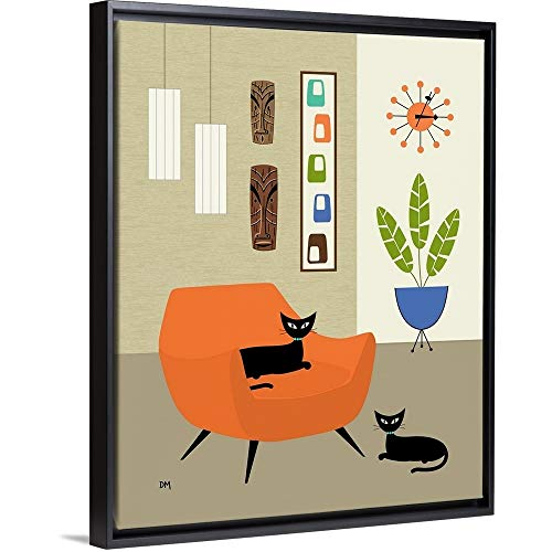 Donna Mibus Floating Frame Premium Canvas with Black for sale  Delivered anywhere in USA