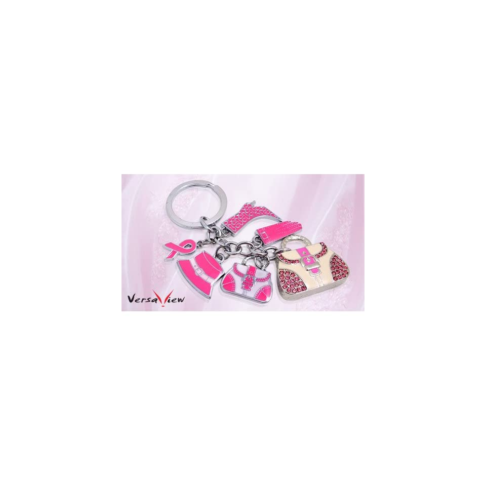 Special Gifts 8G Pink BAG Shape USB Flash Drive With Crystal Rhinestone