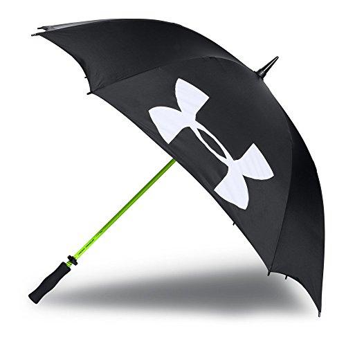 Under Armour Golf Umbrella, Black (001)/White, One Size