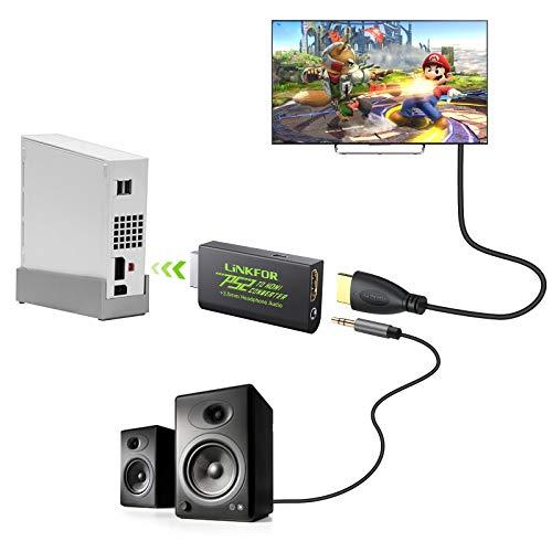 Conversor video Ps2 para HDMI 480i 576i 480p