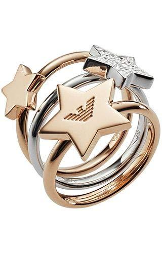 Emporio Armani EG3366221 Silver Woman Ring