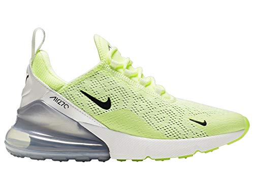 Nike Women's Air Max 270 Barely Volt/Black/Summit White Nylon Casual Shoes 9.5 M US (Nike Air Max Ltd Running Shoes)