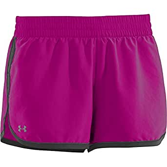 Under Armour Women's Great Escape Ii Shorts (Large, Magenta)