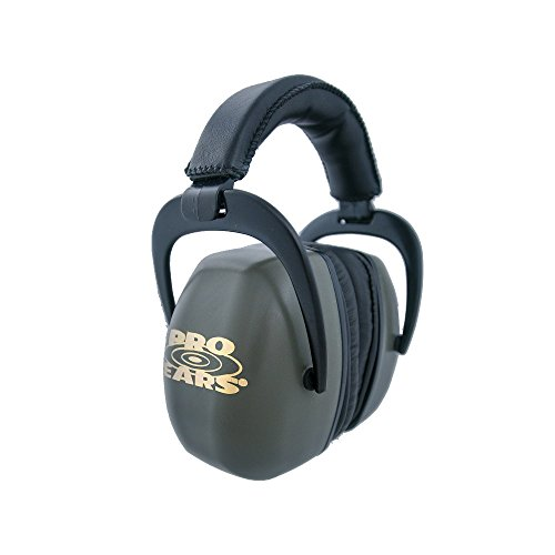Pro Ears - Ultra Pro - Hearing Protection - NRR 30 - Shooting Range Ear Muffs - Green