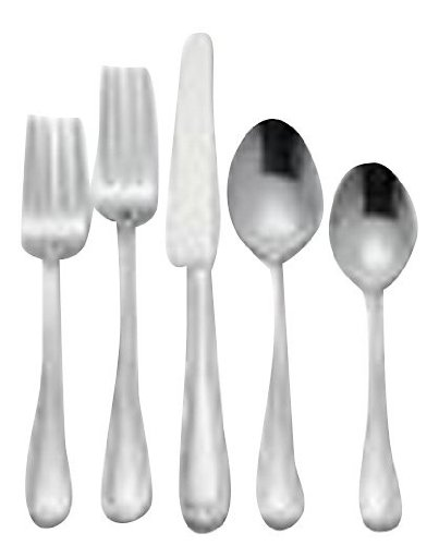 - Reed & Barton Every Day Colby 45-Piece Stainless Steel Set