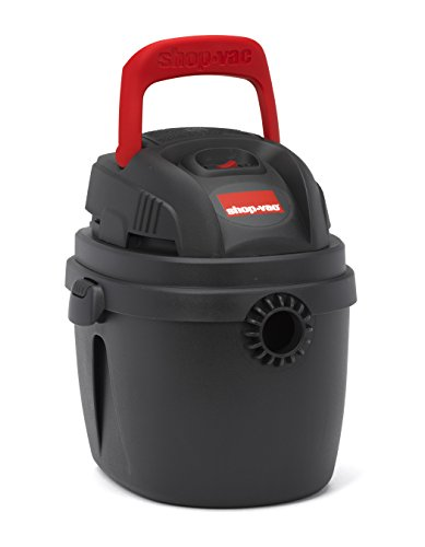 Shop-Vac 2030227 1.5 gallon 2.0 Peak hp Portable Wet Dry Vac,, Red/Black