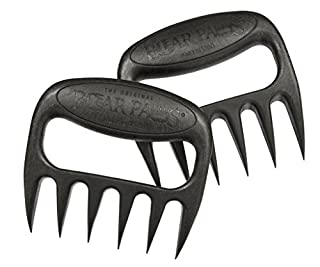 Bear Paws Original Meat Handler Forks - Set of 2 - Black Grizzly Bear Edition (B003IWI66W) | Amazon price tracker / tracking, Amazon price history charts, Amazon price watches, Amazon price drop alerts