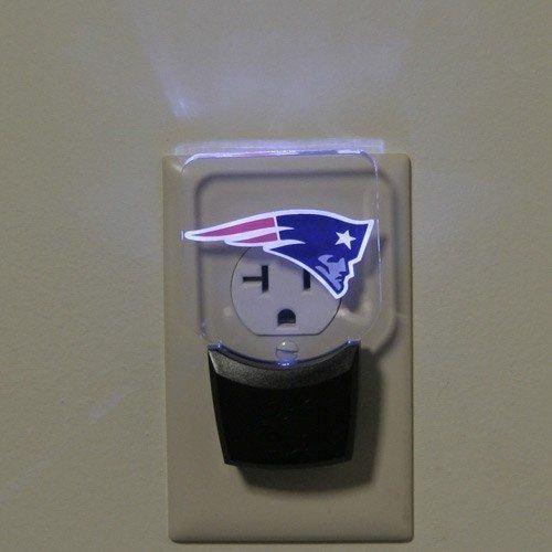 New England Patriots High Tech LED Nightlight No bulbs to change lasts 10 Years