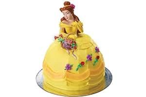 Disney Princess Belle Spring Flowers Petite Cake Topper
