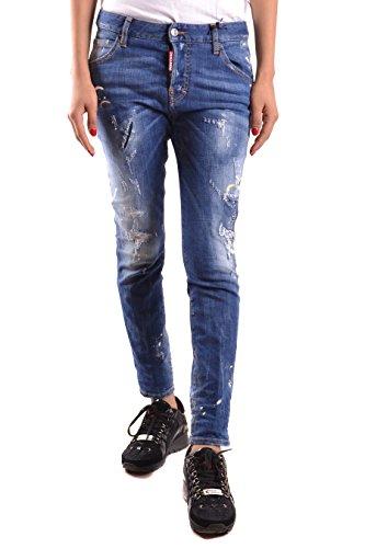 DSQUARED2 Jeans Donna S75LA0844S30342470 Cotone Blu