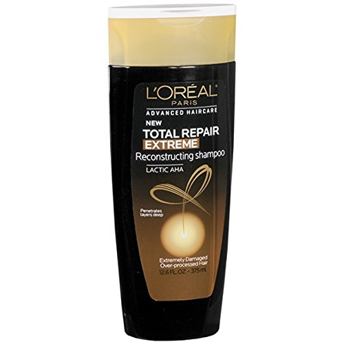 L'Oreal Total Repair Extreme Shampoo, Extremely Damaged Hair 12.6 oz (Best Shampoo For Extremely Damaged Hair)