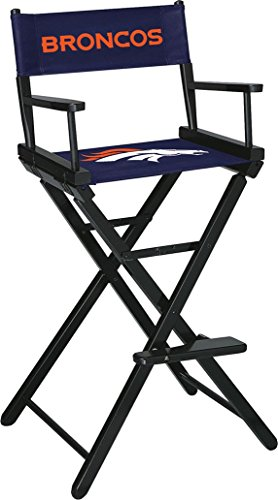 Denver Chair Leather (Imperial Officially Licensed NFL Merchandise: Directors Chair (Tall, Bar Height), Denver Broncos)