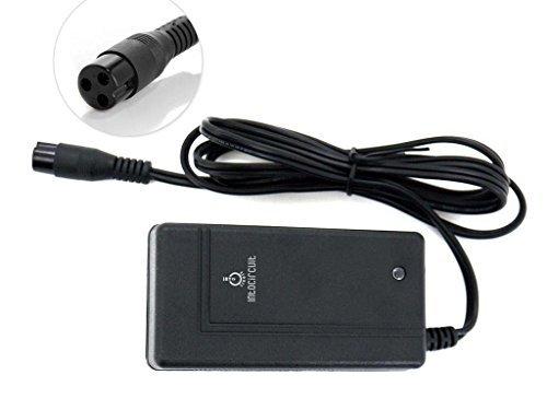 [Extra Long 6.5 Feet Power Cable]24V 1.5A Smart Scooter Battery Wall Charger for RAZOR E100 E125 E150 E200 E300