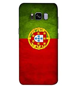 ColorKing Football Portugal 02 Multi Color shell case cover for Samsung S8 Plus