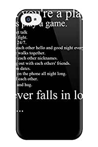 Iphone Hard Case Cover For Iphone 4/4s Funny Quotes