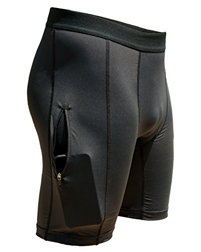 TIDAL COMFORT Men's Zipper Plus Compression Short – DiZiSports Store