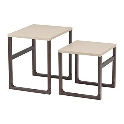 Ikea Rissna Nesting Tables, Set Of 2, Beige