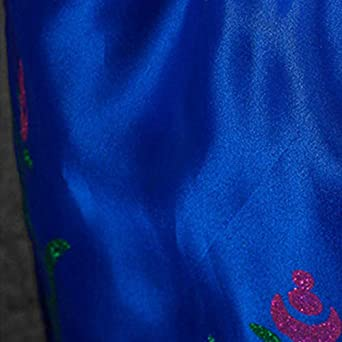 Ragazze Vestito Bambine Principessa Elsa Anna Costume Carnevale Abito Cosplay Holloween Cerimonia Pageant Festa Compleanno Partito Comunione Fiore nozze Gonna Battesimo Prom Cocktail Lungo Vestire